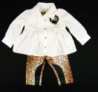 Conjunto Bata e Calça Montaria Onça Gira Baby - 033160