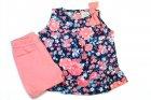 Conjunto bata e shorts com estampa floral - Tilly Baby