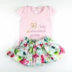 Conjunto Blusa Com Shorts Saia Floral Paraiso - 034734