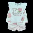 Conjunto Blusa e Shorts Anjos Baby - 035118