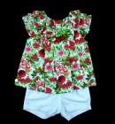 Imagem - Conjunto Blusa e Shorts Anjos Baby - 035121 cód: 035121