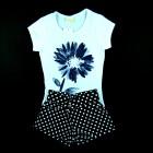 Conjunto Blusa e Shorts Vrasalon - 034033