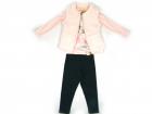 Conjunto blusa legging e colete - Kukiê