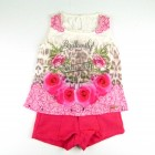 Conjunto Blusa Regata Estampada e Shorts Pakita - 035240