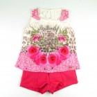 Conjunto Blusa Regata Estampada e Shorts Pakita - 035240