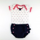 Conjunto Body Com Tapa Fralda Âncora Baby Fashion - 035262