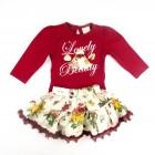 Conjunto Body e Saia Anjos Baby - 032796