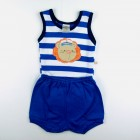 Conjunto Body Regata Leão Marinheiro e Shorts Best Club - 035396