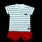 Conjunto Camiseta e Bermuda Anjos Baby - 035114