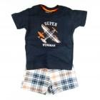 Conjunto Camiseta e Bermuda Avião Vrasalon - 034027