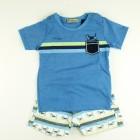 Conjunto Camiseta e Bermuda Baby Turma da Malha - 035698