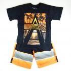 Conjunto Camiseta e Bermuda Estampado Vrasalon - 034017