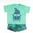 Conjunto Camiseta e Bermuda Estampda Kombi Tilly Baby - 35045