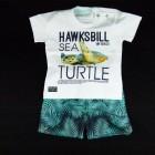 Conjunto Camiseta e Bermuda Microfibra Turtle Banana Danger - 034793