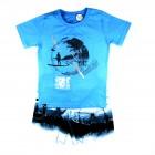 Conjunto Camiseta e Bermuda Passagem Secreta - 034137