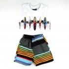 Conjunto Camiseta e Bermuda Surf Vrasalon - 034028