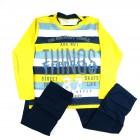 Conjunto Camiseta e Calça Sarja Have Fun - 037789
