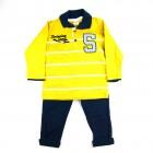 Conjunto Camiseta Polo e Calça Have Fun - 037790