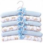 Conjunto de Cabides c6 Linha Algodão Doce Azul Hug - 032101