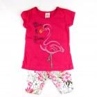 Conjunto Mini Vestido e Legging Estp Flamingo Brandili - 033642