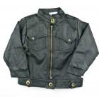 Jaqueta de Couro Indigo Black Piang Pee - 038591