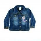 Jaqueta Jeans com Patchs Puc - 036151