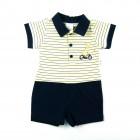 Macacão Curto Anjos Baby - 035110