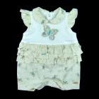 Macacão Curto Borboletas Anjos Baby - 035096