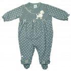 Imagem - Macacão Suedine Bebê Menina Anjos Baby cód: 047345