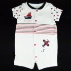 Imagem - Macaquinho Estampa Barco Baby Fashion - 035253 cód: 035253