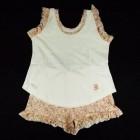 Pijama Baby Doll Malha Jardim Cara de Criança - 034121