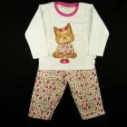 Pijama Dog York Moleton Cara de Criança - 030922