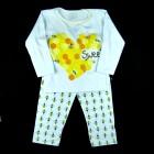 Pijama Longo Abelhinha Cara de Criança - 038451