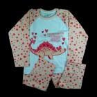 Pijama Longo Estegossaura Cara de Criança - 038445