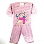 Pijama Moletom Boneca de Neve Cara de Criança - 030932