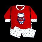 Pijama Pinguim Soft Cara de Criança - 038441/038442
