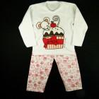 Pijama Soft Bolinho Cara de Criança - 030955 / 030957