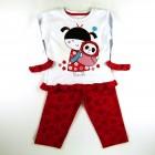 Pijama Suedine Japonesa Cara de Criança - 030970