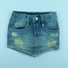 Saia Jeans Com Bico Joy - 029699