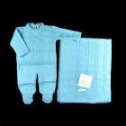 Imagem - Saída Maternidade Macacão e Manta Links Petit Mouton - 038233 cód: 038233