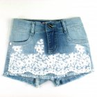 Shorts saia com renda - Pituchinhus