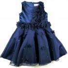 Imagem - Vestido Azul Multi Flores Pituchinhu's - 038147 cód: 038147