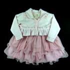 Vestido Bordado Flores com Bolero Cattai - 038974