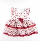 Vestido Com Calcinha Cecilia Beth Bebê - 035141 / 035142 / 035143
