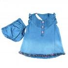 Vestido Com Calcinha Flower Denim Sleeping Pill - 034768