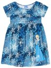 Vestido com estampa Frozen - Brandili