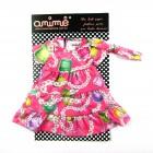 Vestido de Bonecas Jóias Animê - 034477