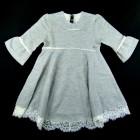 Vestido em Moletom com Pedrarias Animê Petite - 036138