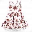 Vestido Floral Peito de Strass Cattai - 035321