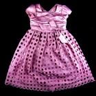 Vestido Renda Poá Animê - 036055